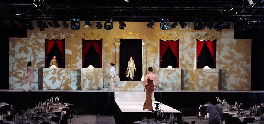 Australian Couture Collection 2002 - Lighting Design & Production by E Productions